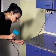 pracovní postup užití samolepicích fólií d-c-fix v kuchyni ... - Dc Fix Folie Küche