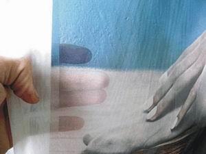 potisk záclony fotografií 2