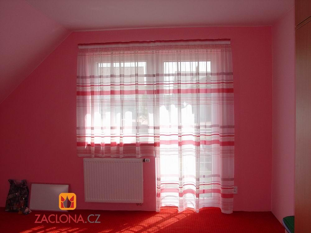 červená ložnice 2