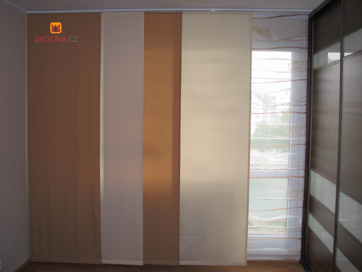 paneele japanischer wand in herbstfarben heimtex ideen. Black Bedroom Furniture Sets. Home Design Ideas