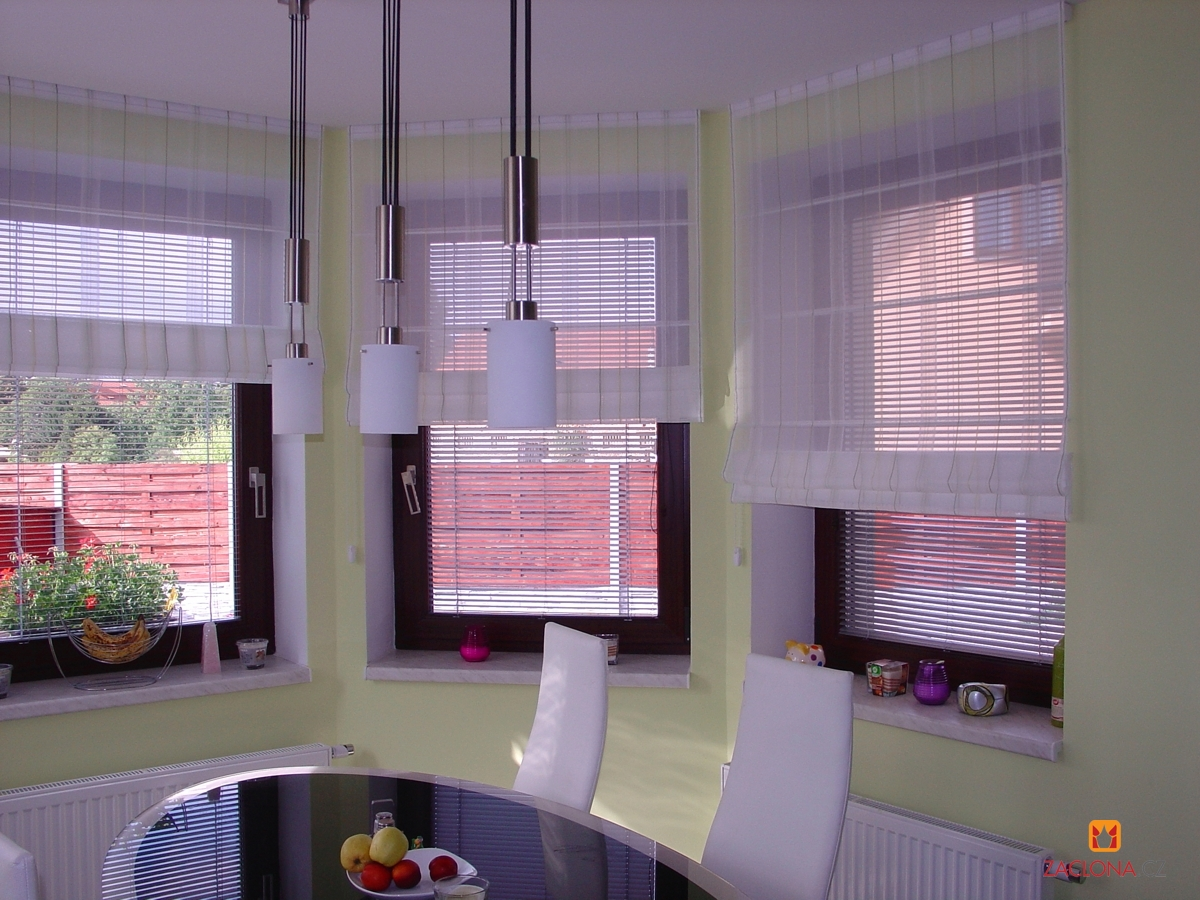Moderne esszimmer und wohnzimmer heimtex ideen - Gardinen esszimmer ...