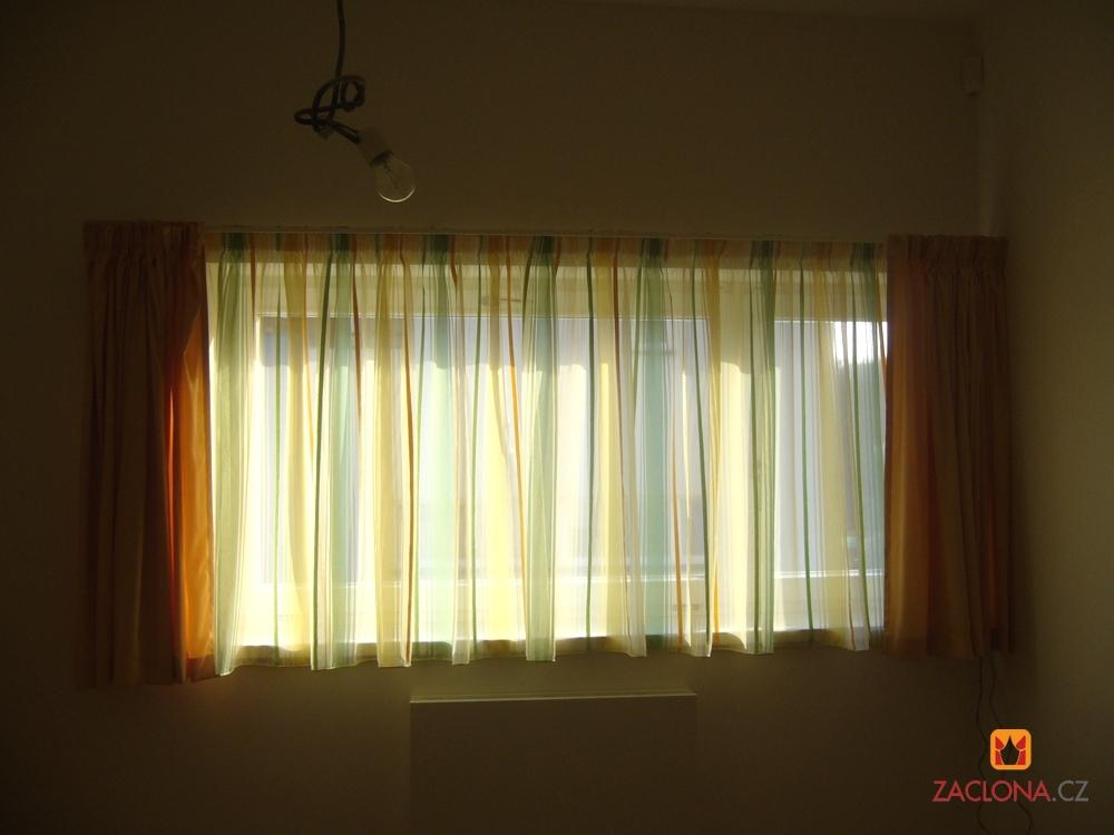 Harmonie farbiger gardinen mit der wohnung heimtex ideen - Musterfenster gardinen ...