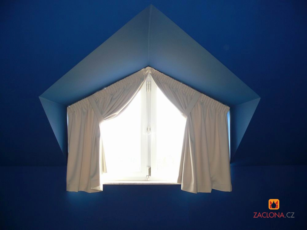 Dachfenster mit vorh ngen nach ma heimtex ideen - Dachfenster vorhang ...