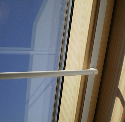 Záclony na střešní okna