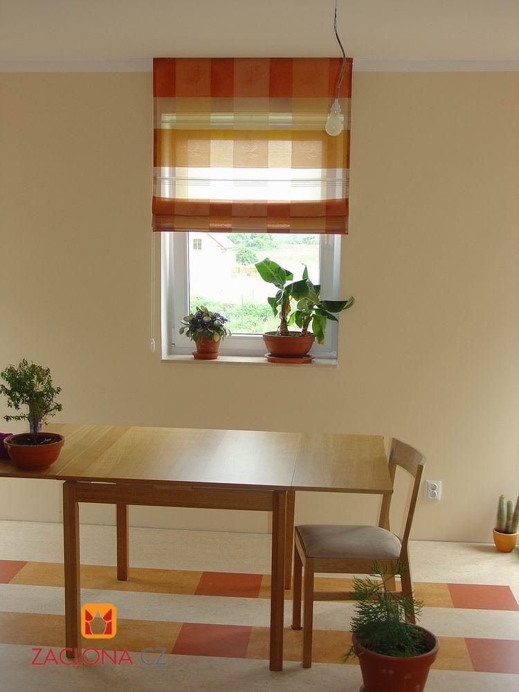 der stoff lyon als r misches rollo heimtex ideen. Black Bedroom Furniture Sets. Home Design Ideas