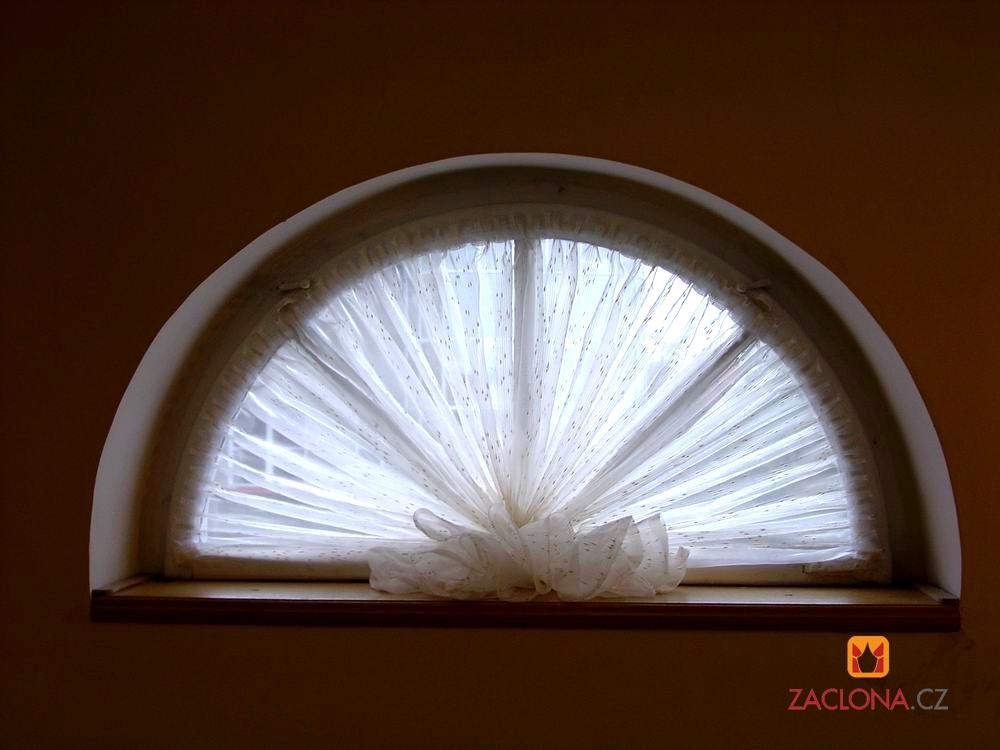 Bogendachfensterdekoration   Heimtex Ideen