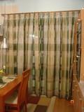 zatažená záclona lyon