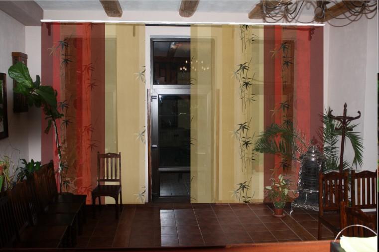 romantische vorh nge oder japanische w nde heimtex ideen. Black Bedroom Furniture Sets. Home Design Ideas