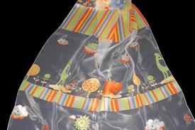dětská záclona 9116