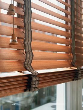 dřevěné žaluzie 9