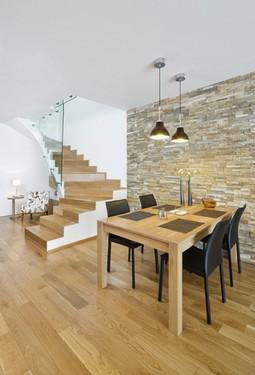 wohnungsgestaltung mit nat rlichen materialien und. Black Bedroom Furniture Sets. Home Design Ideas