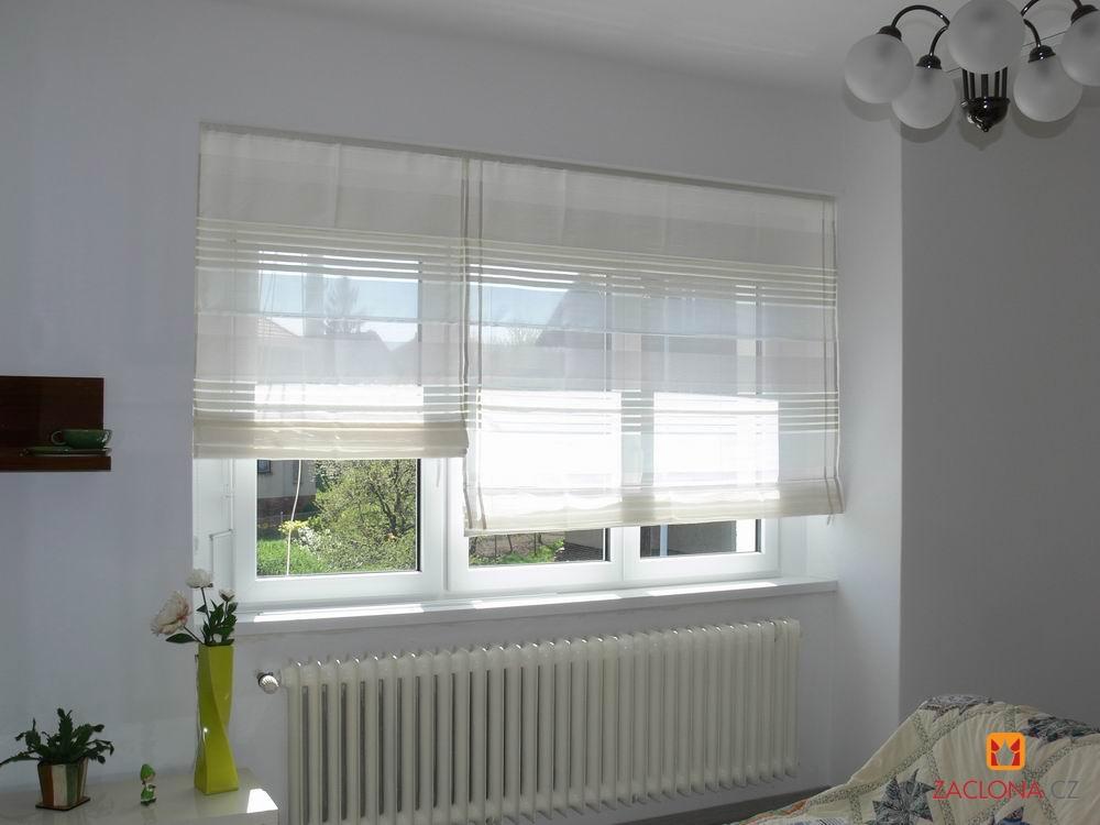 Raffrollos in der Fensternische | Heimtex Ideen