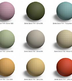 Textury dekoračních látek pro architekty a designery